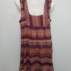H&M Crochet babydoll top